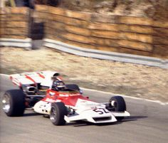 Peter Gethin - Marlboro BRM P160 heads towards Hawthorn Bend at the 1972 Race of Chamions, Brands Hatch