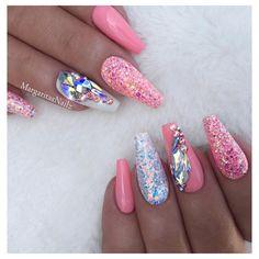 • • • • @vetro_usa #nails#nailart#coffinnails#MargaritasNailz#vetrogel#nailfashion#naildesign#nailswag#hairandnailfashion#nailedit#nailcandy#nailprodigy#ombrenails#nailsofinstagram#chromenails#nailaddict#nailstagram#naildesigns#instagramnails#nailsoftheday#nailporn#nailsonfleek#nailpro#naildesigns#vetrousa#fashionnails#coralnails#valentinobeautypure#glitternails#swarovskinails