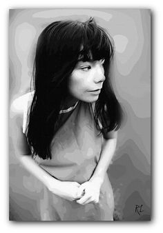 Bjork Art Print Canvas or Poster by ReverieLanePrints on Etsy Martina Mcbride, Louise Brooks, A Perfect Circle, Top Photographers, Black And White Style, Canvas Prints, Art Prints, Queen B, Nice