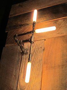 Handlebar Pipe Light: made by eric at MESH