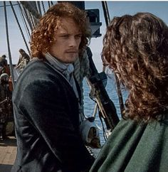 I love the way Jamie looks at Claire. All consuming.