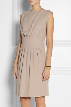 ++ Maison Martin Margiela | Pleated crepe dress