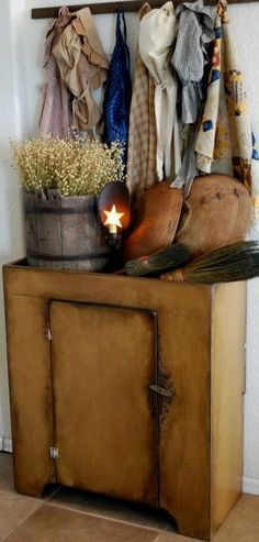 Primitive Early Antique Inspired Dry Sink by redroosterbab on Etsy, $200.00