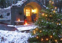 joulusauna kuuluu jouluun, --sauna belongs to christmas in Finland