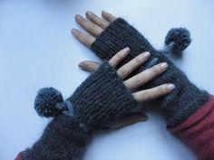 trico*bsession: tricoter des mitaines à pompons