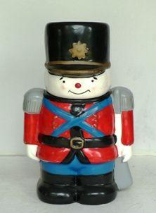 Toy Soldier Cookie Jar