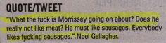 Noel Gallagher - Oasis Quiz
