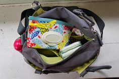 Hello Kelcey: What's In My Diaper Bag + Stylish Diaper Wipes