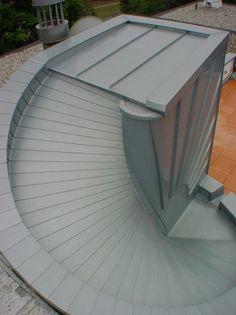 Bild 4: Detailsausbildung Übergang Kehle/Wandfläche/Dacheindeckung