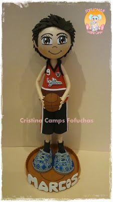 Cristina Camps Fofuchas: FOFUCHO JUGADOR DE BASQUET