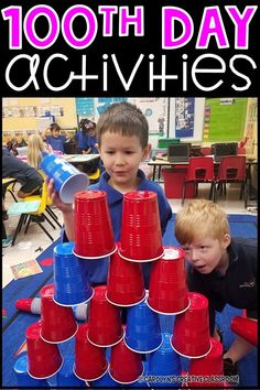 Celebrate the 100th Day of school with these engaging 100th Day of School ideas and activities!