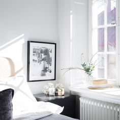 Monochrome and mid-century in lovely Swedish spaces. Eklund.