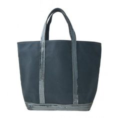 Vanessa Bruno. Medium Cotton Tote in Pyrite.