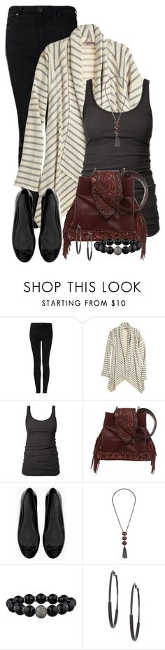 """Striped Cardigan"" by cathy0402 ❤ liked on Polyvore featuring Vivienne Westwood Anglomania, Calypso St. Barth, James Perse, Zara, GUESS by Marciano and 14th & Union"