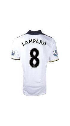 Low price 11/12 Chelsea Lampard 8 Third Away football kits,football kit,classic football shirts,football team kit,football club kits At soccerworldmall.