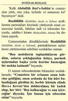 AŞIRI ÇOK ÇOK FAZİLETLİ İSTİĞFAR (SAKIN KAÇIRMA) - Dualar ve Zikirler Allah Islam, Math, Rage, Math Resources, Early Math, Allah, Mathematics