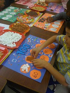 Bishop's Blackboard: A First Grade Blog: 100th Day Trail Mix  Febr. 12 2012
