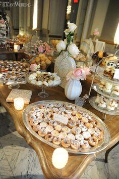Yum yum yummy treats-http://www.elegantwedding.ca/elegant-news/i-dos-at-le-windsor-ballrooms/