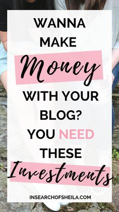 Do you want to make money with your blog? Are you ready to take your hobby blog to a business blog? Click here to read about 7 of the best investments worth making to grow and monetize your blog! For more blogging tips for beginners go to insearchofsheila