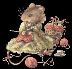 Mouse Knitting-Sue B Photo:  This Photo was uploaded by jade95_2010. Find other Mouse Knitting-Sue B pictures and photos or upload your own with Photobuc...