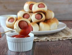 Game Day Mini Hot Dog Bites