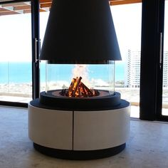 Stunning fireplace installed in the Atlantic Seaboard Sit Back And Relax, Beautiful Living Rooms, Fireplaces, Warm, Winter, Outdoor Decor, Projects, Home Decor, Winter Season