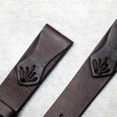 Hand made leather watch strap with stitched details in deep brown leather These watch straps are hand crafted from fine Stitching Leather, Leather Tooling, Hand Stitching, Leather Bag, Brown Leather, Leather Gifts, Leather Craft, Leather Accessories, Leather Jewelry