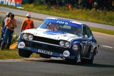 1973 John Fitzpatrick Ford Capri RS 2600 Spa