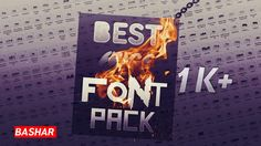 BEST HUGE FONT PACK 1K Fonts | Exclusive Font Pack You Can Buy The Pack it's A Very Exclusive Font Pack Hurry Up To Buy This Pack   Prince Only : €3 https://sellfy.com/p/8ksJ/