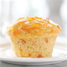 Apricot Breakfast Muffins.  These use Splenda, Smucker's® Sugar Free Apricot Preserves, and almond extract.  I bet you could make them with different flavors of Sugar Free Preserves as well.