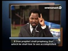 T B Joshua, Emmanuel Tv, Godly Man, Quotable Quotes, Perspective, Bible, Author, Let It Be, Watches