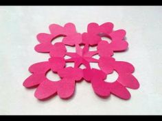 How to make KIRIGAMI paper cutting patterns and templates - 4