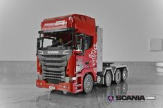 hello everyone, this is my new moc: RC SCANIA Heavy tractor truck, it has 3 XL motors for driving, and one servo motor for steering, thanks and enjoy photos Lego Technic Truck, Lego Truck, Truck Camper, Cool Lego, Cool Toys, Lego Ninjago City, Lego Wheels, Lego Racers, Amazing Lego Creations