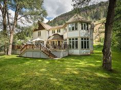 Mansion dream house: 527 Galena Ave | Telluride