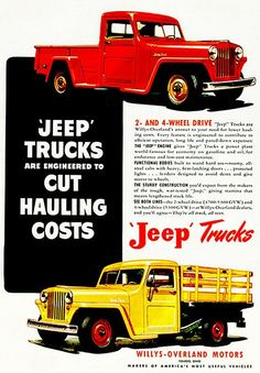 willys paint colors 1957 jeep  old trucks  pickup trucks