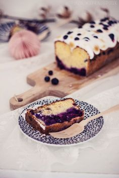 #blueberry, ~ Blueberry Meringue Cake