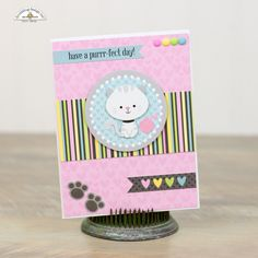 Hi everyone! Corri here today sharing some cards that I made with the adorable new Kitten Smitten  Collection. I just love all the sweet i...