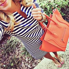 Dress & Bag Combination .