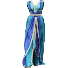 edited by mlleemilee ❤ liked on Polyvore featuring dresses, gowns, long dresses, edited, blue gown, blue evening gown, blue evening dresses and blue dress