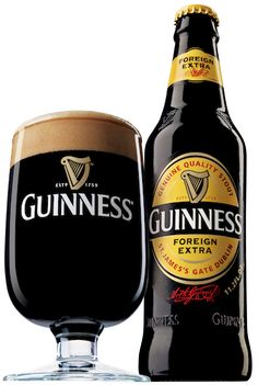 Guinness Foreign Extra Stout [via Stephen] ~ damn right :-) Excellent, beloved Guinness ...