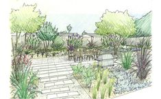 Landscape Design Sketches <b>landscapes</b>, google and <b>landscape sketch</b> on pinterest