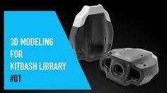 Cinema 4D 3D Modeling For Kitbash Library #01