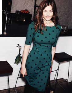 I've spotted this @BodenClothing Winter Audrey Dress