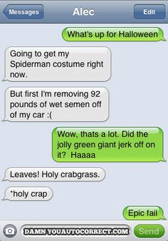 DYAC Halloween Classic: Spidey Problems - Damn You Auto Correct!