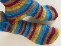 Lankaterapiaa: Mulle kans! - Stripemania socks