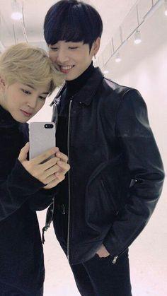 Read Jungkook y Jimin from the story imagina con BTS by with reads. Eres la mejor amiga de de Jimin y Jungkook, p.