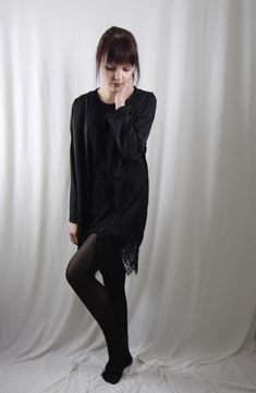 Kimono Hem-Lace Lace Kimono, Style, Fashion, Clothing, Woman, Moda, Fashion Styles, Fashion Illustrations, Stylus