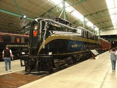 PRR 4935 GG1 at RR Museum of PA