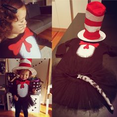 Cat in the Hat Costume  https://littlemulberryproject.wordpress.com/2016/11/11/cat-in-the-hat/