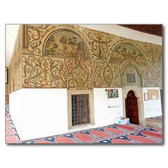 Albania - The Frescoes in Ethem Bey Mosque Carte Postale